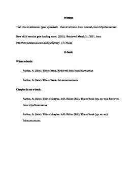 First Day APA Formatting guide for Lab Reports