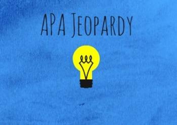 APA Jeopardy