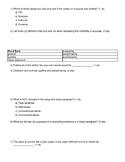 APA Research Paper Exam