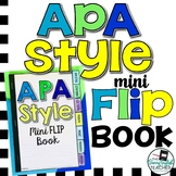 APA Style (6th edition)  Mini Flip Book