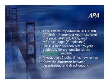 APA quick review
