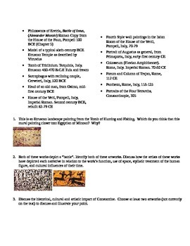 APAH Test: The Etruscans and Ancient Rome 9,10