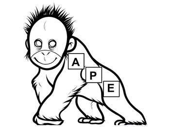 APE Cutout for Interactive Notebook