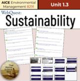 APES 5.12 / AICE Environ. Management: WebQuest: Sustainabi