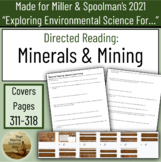 APES AP Environmental Science Unit 5.9 Resource: Mining & Minerals w/keys