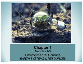 APES Chapter 1 Ppt and Student Notes - AP Environmental Science