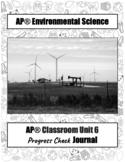 APES ~Progress Check~ Journal (ALL UNITS)