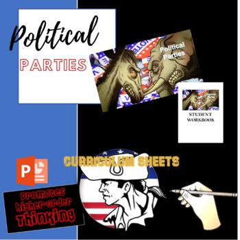 American Gov Flipped (Bundle) Political Parties Unit