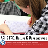 APHG Free Response Question (FRQ)- Geography: It's Nature