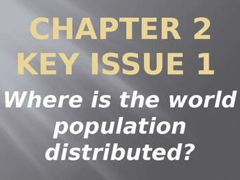APHG The Cultural Landscape 11th Edition - Ch2 Key Issue 1 PPT