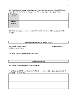 APHG The Cultural Landscape 11th Edition - Ch4 KI4 Guided Reading Notes