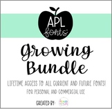 APL Fonts Growing Bundle