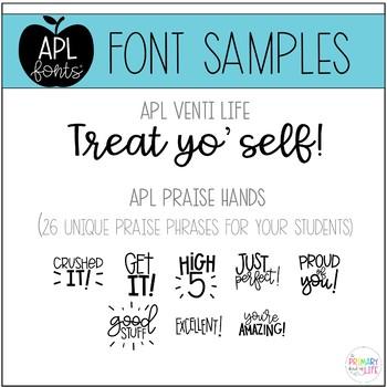 APL Fonts Volume Five