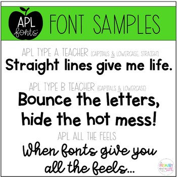 APL Fonts Volume Four - the Cricut and Silhouette edition!