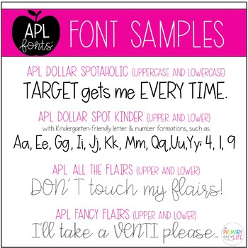 APL Fonts Volume One