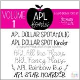 APL Fonts Volume One