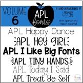 APL Fonts Volume Six