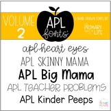 APL Fonts Volume Two