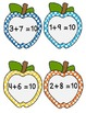 APPLE ADDITION PUZZLES