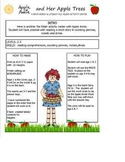 APPLE ANNIE AND HER APPLE TREES MATH MONEY LITERACY FILE FOLDER ACTIVITY