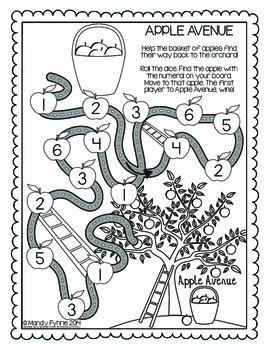 APPLE Avenue #1-6 Math Practice Games