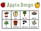 APPLE BINGO (Includes Apple Life Cycle)