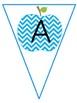 Pennant Banners (Apple Chevron Theme)