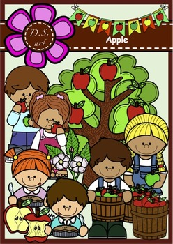 APPLE Clipart (color and black&white)