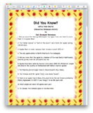 APPLE FACTS! Interactive Notebook Activity