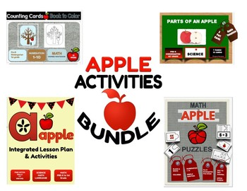 APPLE LESSON PLAN BUNDLE