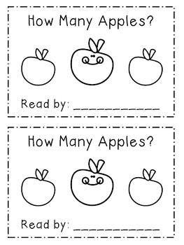 APPLE LETTER AND NUMBER ACTIVITIES