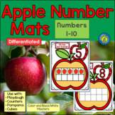 APPLE Math Number Mats 1-10 ~ Fill the Ten Frame!