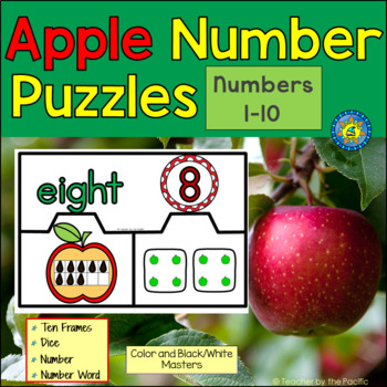 APPLE Math Number Puzzles, 1 – 10