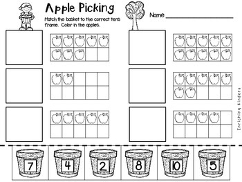 APPLE PICKING TEN FRAMES