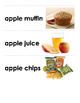 APPLE Products Word & Picture Cards