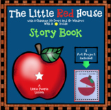 APPLE STORY: THE LITTLE RED HOUSE WITH NO DOORS OR WINDOWS WITH A STAR INSIDE