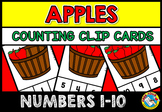 FALL ACTIVITY KINDERGARTEN (COUNTING APPLES PRESCHOOL) SEPTEMBER MATH CENTER