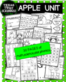 APPLE UNIT with math,science,literacy {Texas Twist Scribbles}