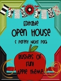 APPLE THEMED OPEN HOUSE & PARENT NIGHT KIT {EDITABLE}