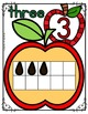APPLE Math Ten Frame Number Posters, 0-10
