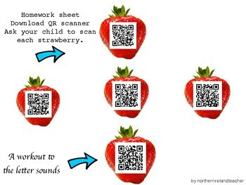 APPLE WATCH Fun - sounds, letter names, vowels & blends with QR codes!