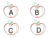 APPLE WORD WALL LABELS