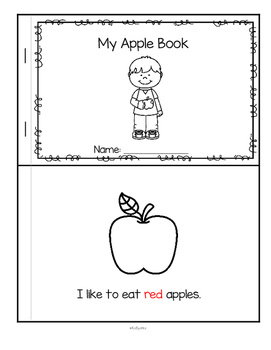 APPLES 2 Preschool Theme