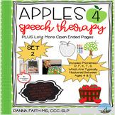 Apples 4 Speech Therapy SET 2