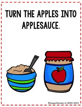 APPLES APPLES ALL  AROUND 'WH' Comprehension Book