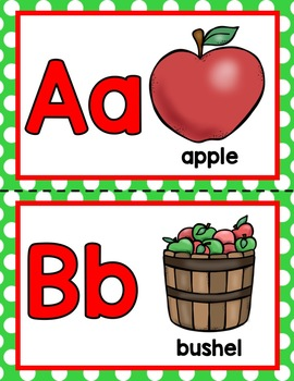 APPLES Alphabet