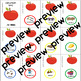 APPLES - COMPLETE BUNDLE of Apples 4 speech therapy sets 1-5