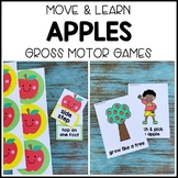 APPLES Move & Learn Gross Motor Games for Preschool, Pre-K