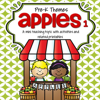 APPLES 1 Preschool Theme