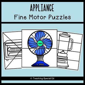 APPLIANCE Fine Motor Puzzles - Full version